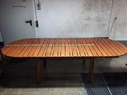 Terrassenmöbel Tisch mit 6 Stühlen