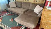 Sofa mit Fußteil