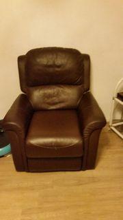 Ledersessel Couch