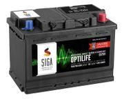 SIGA OPTILIFE Autobatterie 12V 75Ah