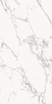 Großformatfliesen Statuario Lucidato 120x240cm poliert