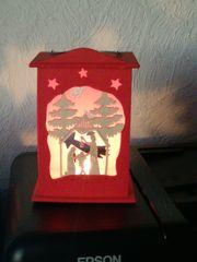 Weihnachts Deko Laterne Holz
