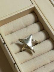 Außergewöhnlicher Ring 835 Silber matt