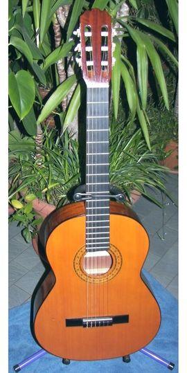 Gitarren/-zubehör - Schöne Konzertgitarre Nylonsaiten spanische Gitarre