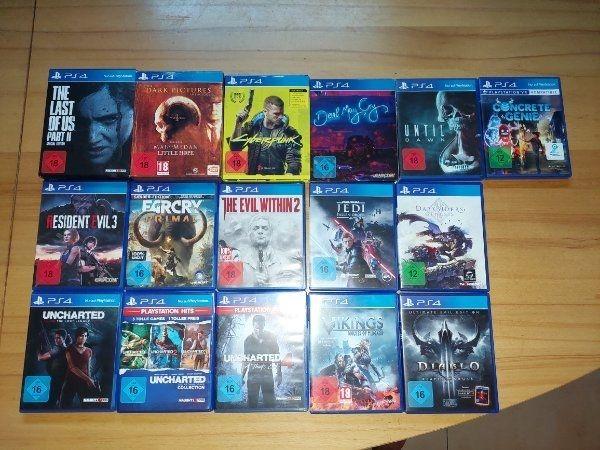 PS4 Spiele Neuwertig