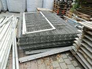 Stabgitterzaun gebraucht Höhe 2m Gartentor