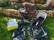 Kinderwagen und Buggy Emmaljunga KOMPLETT