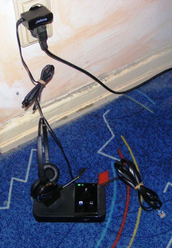Headset mit Ladestation