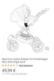 Verkaufe Maxi-Cosi Adapter für Babyjogger