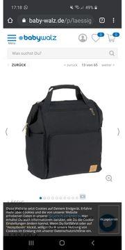 neue Wickeltasche rucksack von Lässig