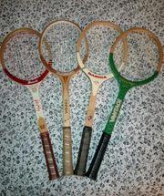 Holz Tennisschläger je 20 -