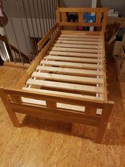 Kinderbett 70X160 cm aus Kiefernholz