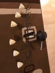 Neuwertige formschöne 6-flammige Deckenlampe