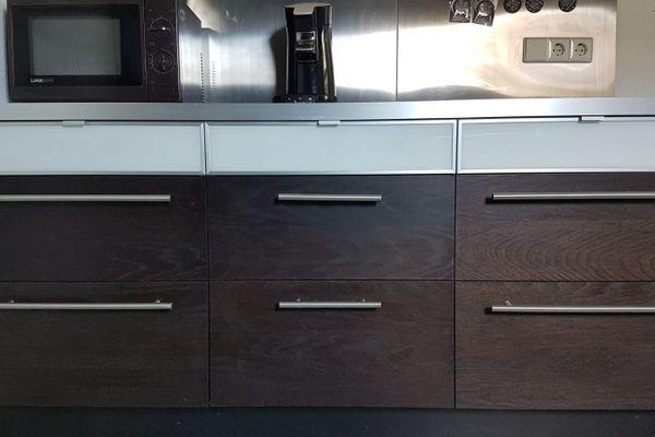 Ikea Küche Einbauküche inklusive Theke