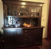 Antikes Massivholzbuffet Sideboard Küchenschrank