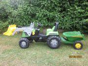 Trettraktor Rolly Toys Junior Agrafarm