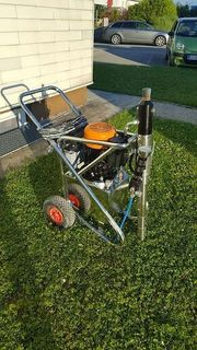 Master Spraying Technology 21000 Iron