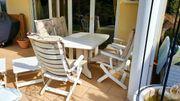 Terrassen - Garnitur Gartenmöbel Sitzgruppe 4