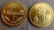 Münze 1 Taler Vereinigung Brettener