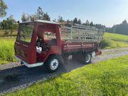 Lindner T3500S mit Ladewagen