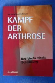 Kampf der Arthrose Ihre biochemische