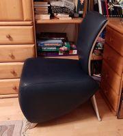 Ledersessel BOBO DAUPHIN Lounge Sessel