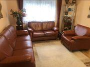 Leder Couch Set