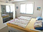 Schlafzimmer Spiegel Schrank Raumspar Bett