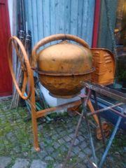 Beton-Mischmaschine