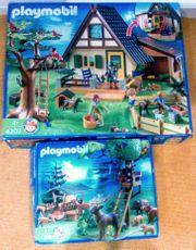 Playmobil Forsthaus mit Tierpflegestation 4207