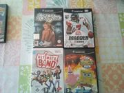 wii und GameCube Spiele zu