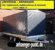 Multi- Autotransporter Tieffahrwerk 5 x