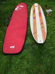 Surfbrett inkl Tasche und Zubehör