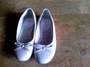 Schuhe Ballarinas Lackschuhe Gr 33