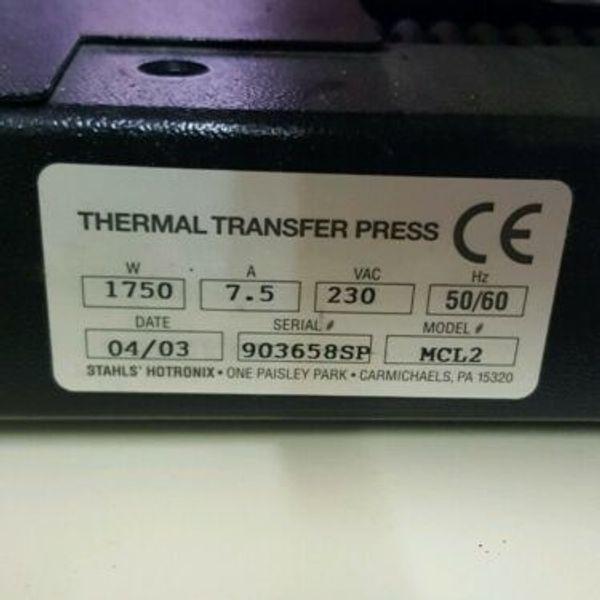 STAHLS Transferpresse