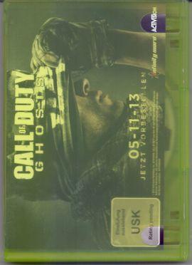 Call of Duty Ghosts XBOX: Kleinanzeigen aus Leipzig Zentrum-Süd - Rubrik Xbox 360