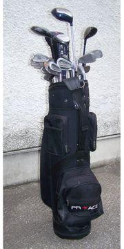 Golf Schläger mit Tasche Golfbag