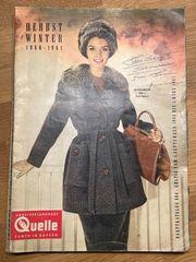 Quelle Katalog - Herbst - Winter 1960 -