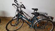 2 Damenfahrräder 80 EUR und