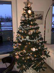Weihnachtsbaum Kunststoff Höhe ca 1