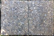 Waschbetonplatten 40x60 in der Mitte