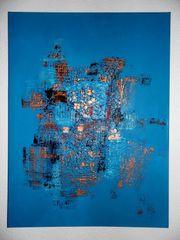 Bild Acrylbild abstrakt Kunst modern