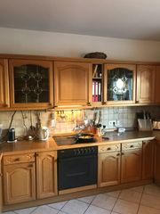 Küche Eiche Massivholz hell