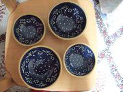 SET 4 Schalen Schüsseln Keramik