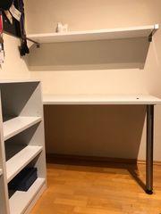 Schreibtisch Regal Kombi Ecklösung