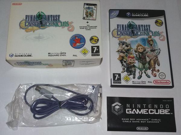 Nintendo Gamecube - Final Fantasy Crystal