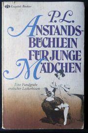 Anstandsbüchlein für junge Mädchen-Heyne-Verlag- Reihe