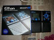 ZOOM G1on Multieffektgerät für Gitarre