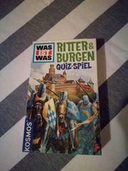 Ritter Burgen Quiz-Spiel Mitbringspiel von