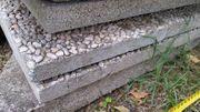 Waschbetonplatten Terrassenplatten zu verschenken